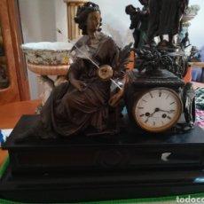 Relojes de carga manual: RELOJ DE SOBREMESA S XIX MAQUINARIA PARÍS.. Lote 192346897