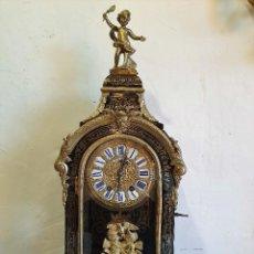 Relojes de carga manual: RELOJ LUIS XV CON MARQUETERIA BOULLE 66 CM. Lote 192962493