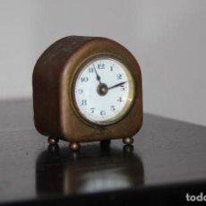 Relojes de carga manual: ANTIGUO RELOJ DESPETADOR MINIATURA. Lote 193088156