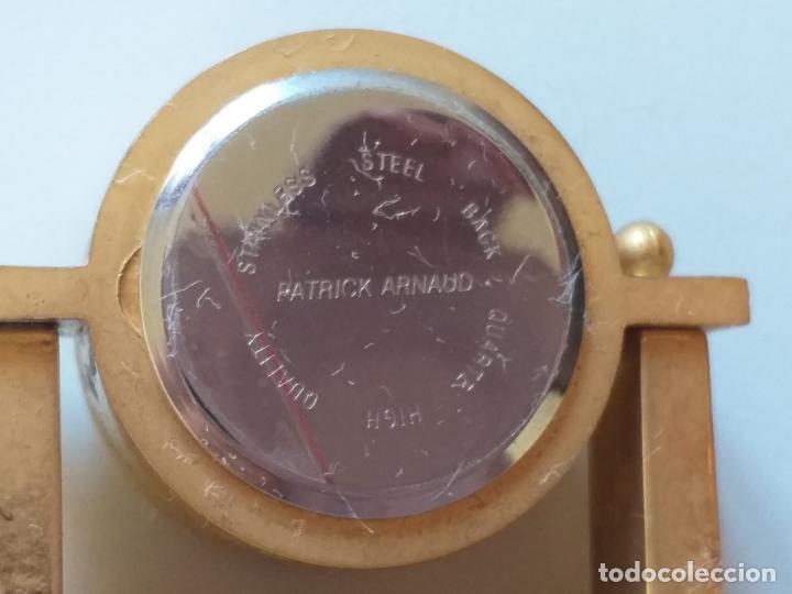 Relojes de carga manual: RELOJ DE COLECCION EN MINIATURA RELOJ DE SOBREMESA. MARCA Patrick Arnaud. QUARTZ - Foto 7 - 193667147