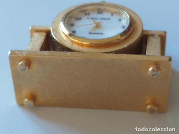Relojes de carga manual: RELOJ DE COLECCION EN MINIATURA RELOJ DE SOBREMESA. MARCA Patrick Arnaud. QUARTZ - Foto 8 - 193667147