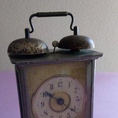 Relojes de carga manual: RELOJ SOBREMESA - 18 X 13 X 9.5 CMS. Lote 193735190