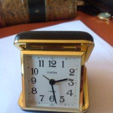 Relojes de carga manual: DOS RELOJES DESPERTADOR ANTIGUOS. Lote 194225962