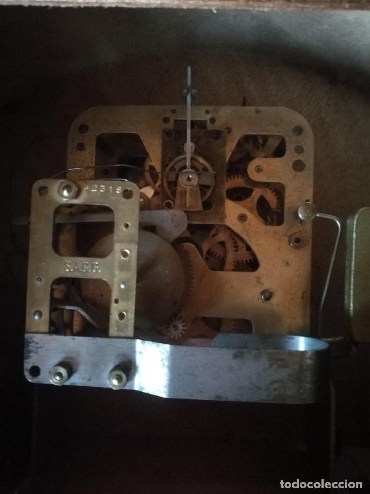 Relojes de carga manual: Reloj-hucha de una compañia de seguros-FRANCIA año 1930 - Foto 5 - 194234565