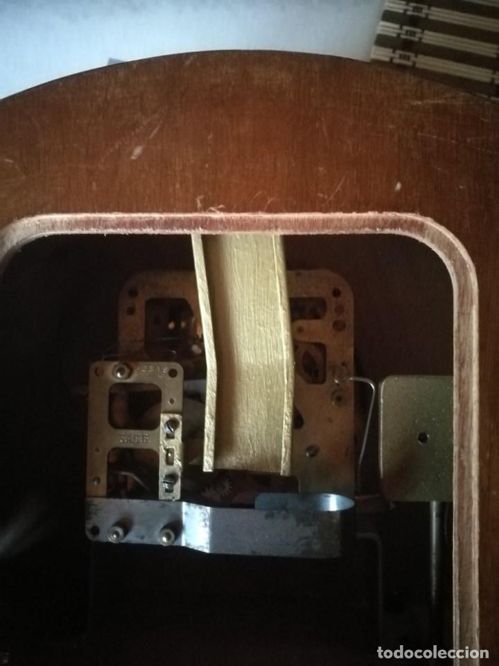 Relojes de carga manual: Reloj-hucha de una compañia de seguros-FRANCIA año 1930 - Foto 6 - 194234565