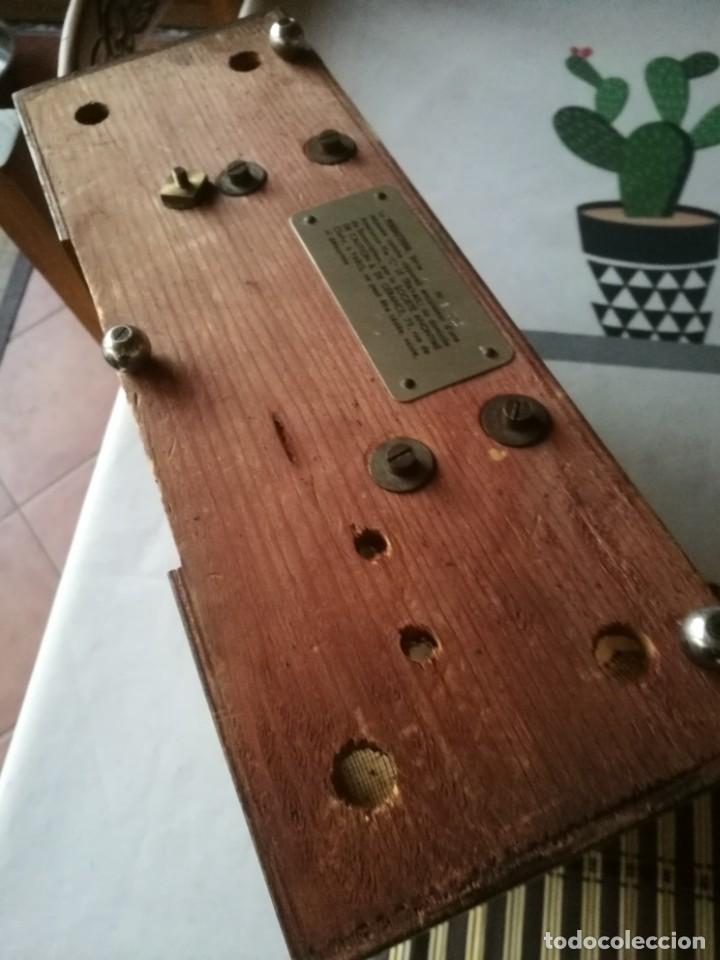 Relojes de carga manual: Reloj-hucha de una compañia de seguros-FRANCIA año 1930 - Foto 8 - 194234565