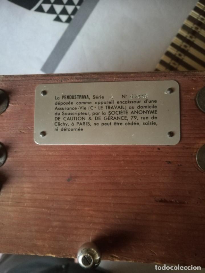 Relojes de carga manual: Reloj-hucha de una compañia de seguros-FRANCIA año 1930 - Foto 9 - 194234565