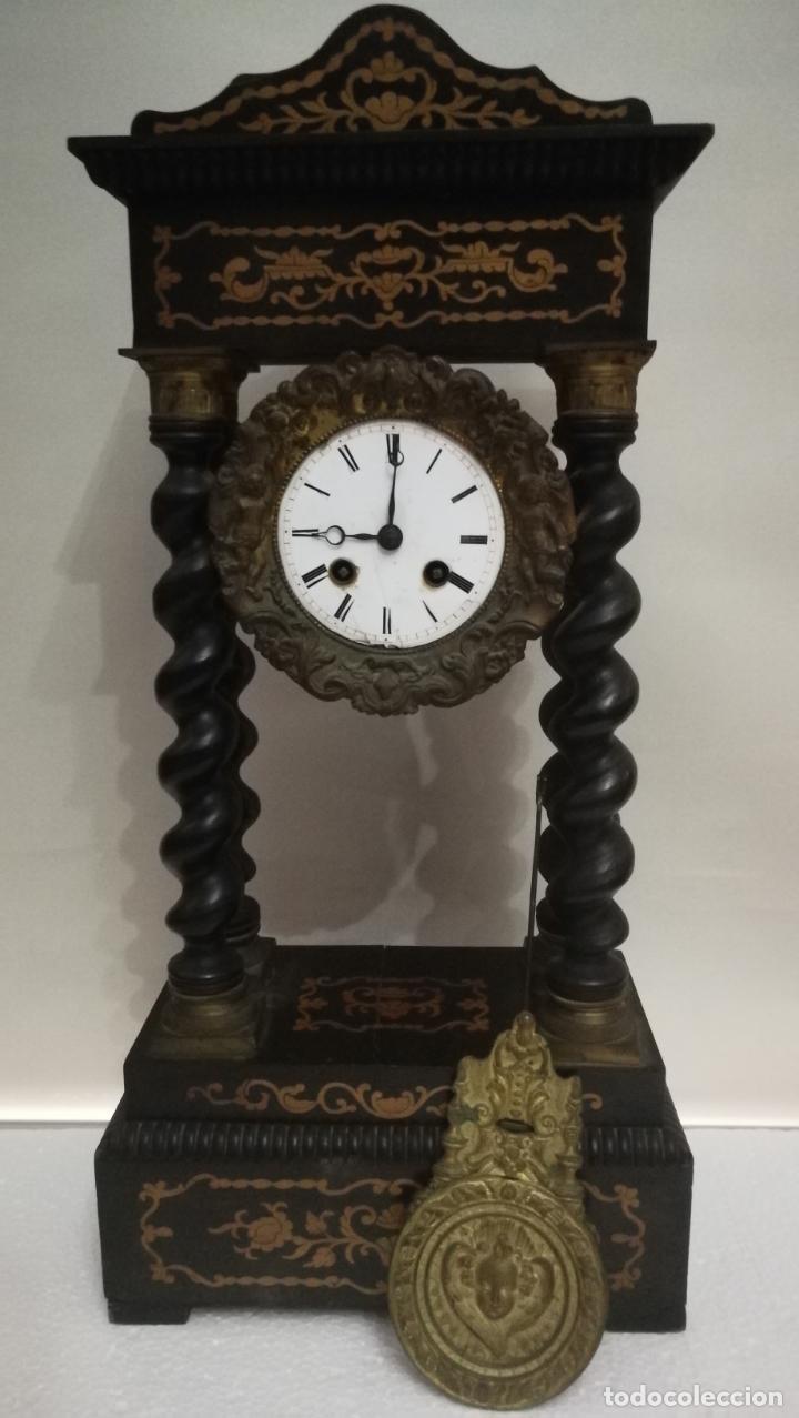 RELOJ DE PÓRTICO PARA RESTAURAR (Relojes - Sobremesa Carga Manual)