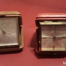 Relojes de carga manual: DOS RELOJES CYMA Y DUWARD. Lote 194265818
