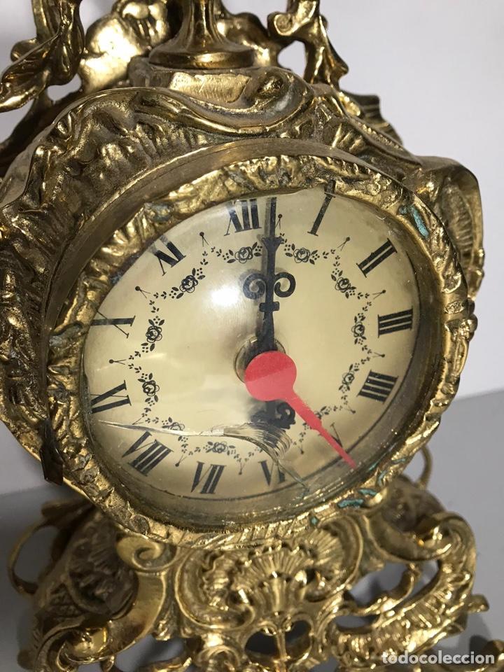 Relojes de carga manual: Reloj de bronce de pila - Foto 3 - 194322382