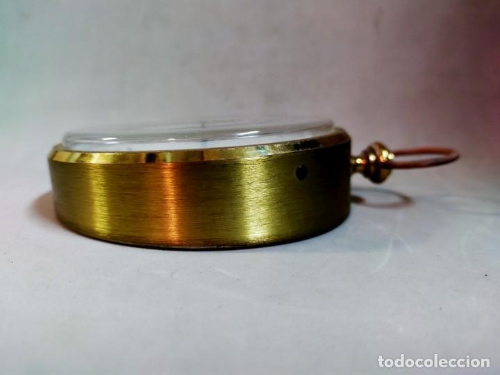 Relojes de carga manual: RELOJ DE SOBREMESA CARGA MANUAL, IDEA, WEST GERMANY, EN LATON DORADO - Foto 3 - 194396890