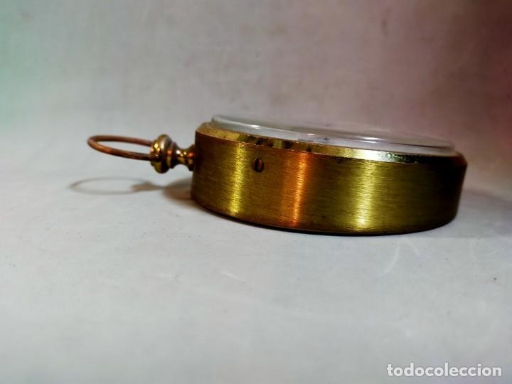 Relojes de carga manual: RELOJ DE SOBREMESA CARGA MANUAL, IDEA, WEST GERMANY, EN LATON DORADO - Foto 6 - 194396890