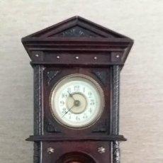 Relojes de carga manual: PRECIOSO RELOJ S.XIX DE SOBREMESA MEJOR EN MANO. Lote 194526471