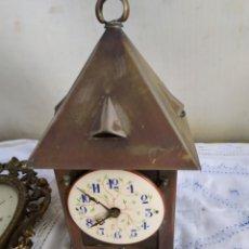 Relojes de carga manual: ANTIGUO Y RARO RELOJ DESPERTADOR FRANCÉS SIGLO XIX. Lote 194669166