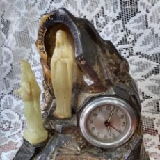 Relojes de carga manual: ANTIGUO( DIFÍCIL RELOJ MADE IN FRANCE, MUSICAL A.B. SWISS ). MÁS ANT. RELIGIOSAS MI PERFIL.. Lote 194702132
