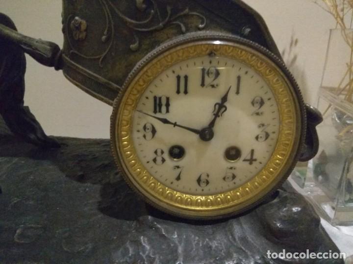 Relojes de carga manual: Precioso reloj de sobremesa - Foto 2 - 194709937