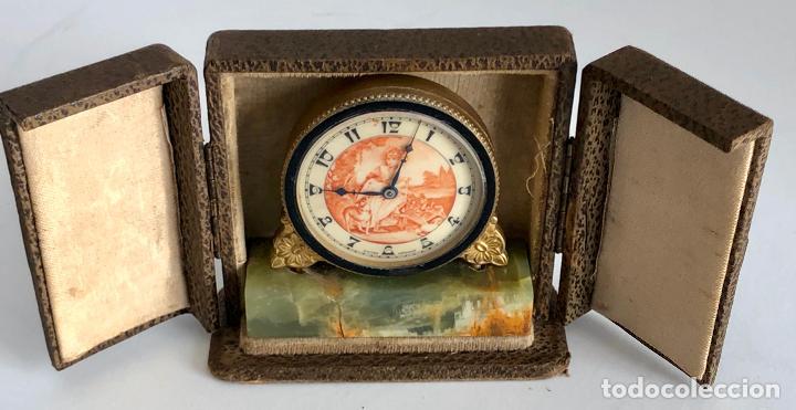 RELOJ DE VIAJE PRINCIPIOS SIGLO XX (Relojes - Sobremesa Carga Manual)