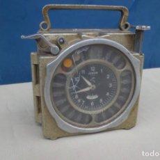 Relojes de carga manual: PRECIOSO RELOJ DE CONTROL DE PALOMAS, AÑOS 50 EN METAL.. Lote 194893997