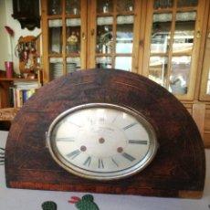 Relojes de carga manual: CAJA PARA RELOJ-HUCHA DE UNA COMPAÑIA DE SEGUROS-FRANCIA AÑO 1930. Lote 194914356