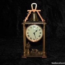 Relojes de carga manual: RELOJ SOBREMESA - ARTHUR IMHOF - STRIKING - 2 FRAILES -DE COLECCIÓN.. Lote 195054386