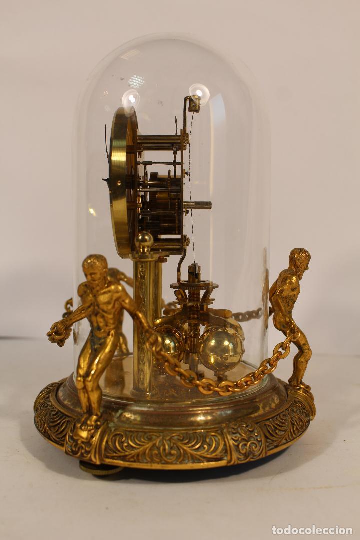 Relojes de carga manual: reloj de urna marca kem en bronce - Foto 2 - 195161306