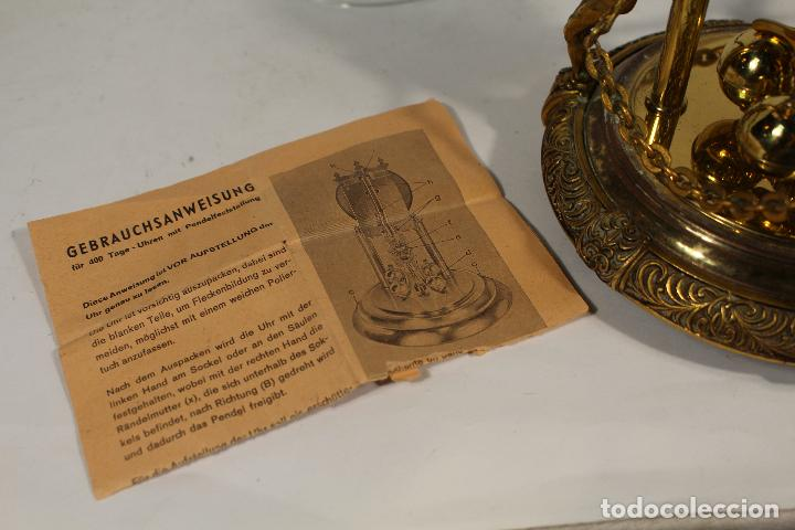 Relojes de carga manual: reloj de urna marca kem en bronce - Foto 3 - 195161306