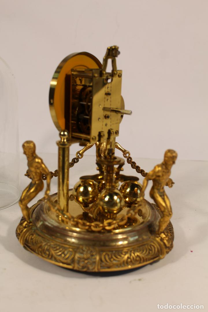 Relojes de carga manual: reloj de urna marca kem en bronce - Foto 5 - 195161306