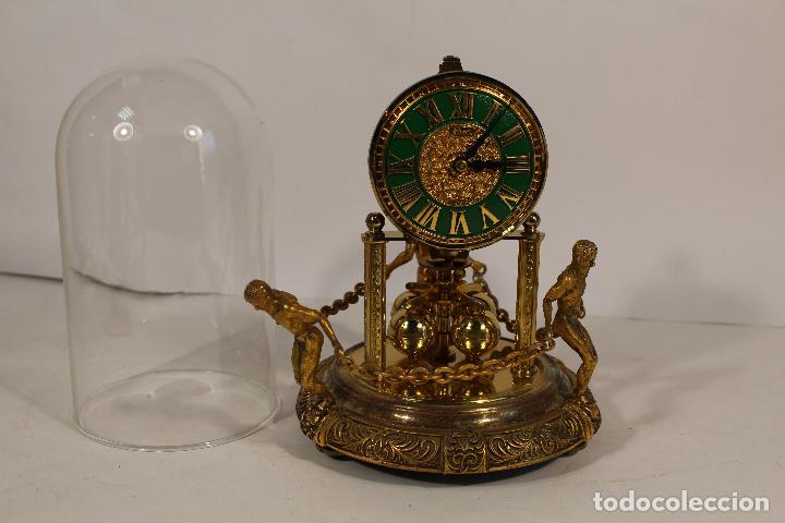 Relojes de carga manual: reloj de urna marca kem en bronce - Foto 6 - 195161306