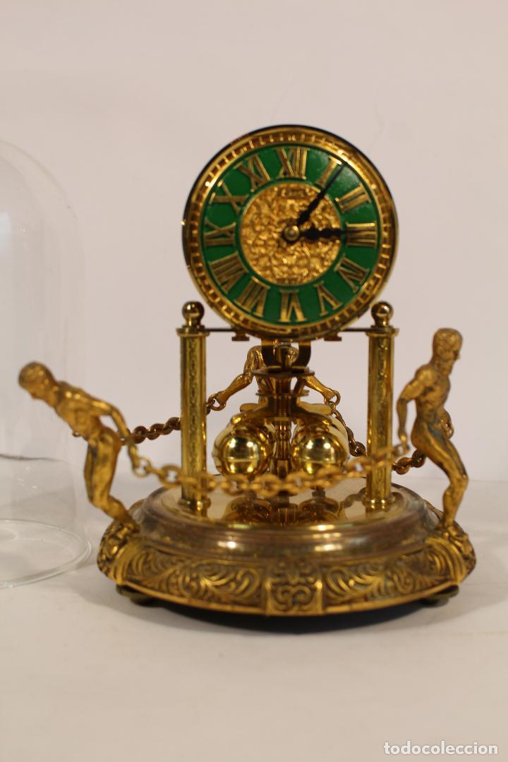 Relojes de carga manual: reloj de urna marca kem en bronce - Foto 7 - 195161306