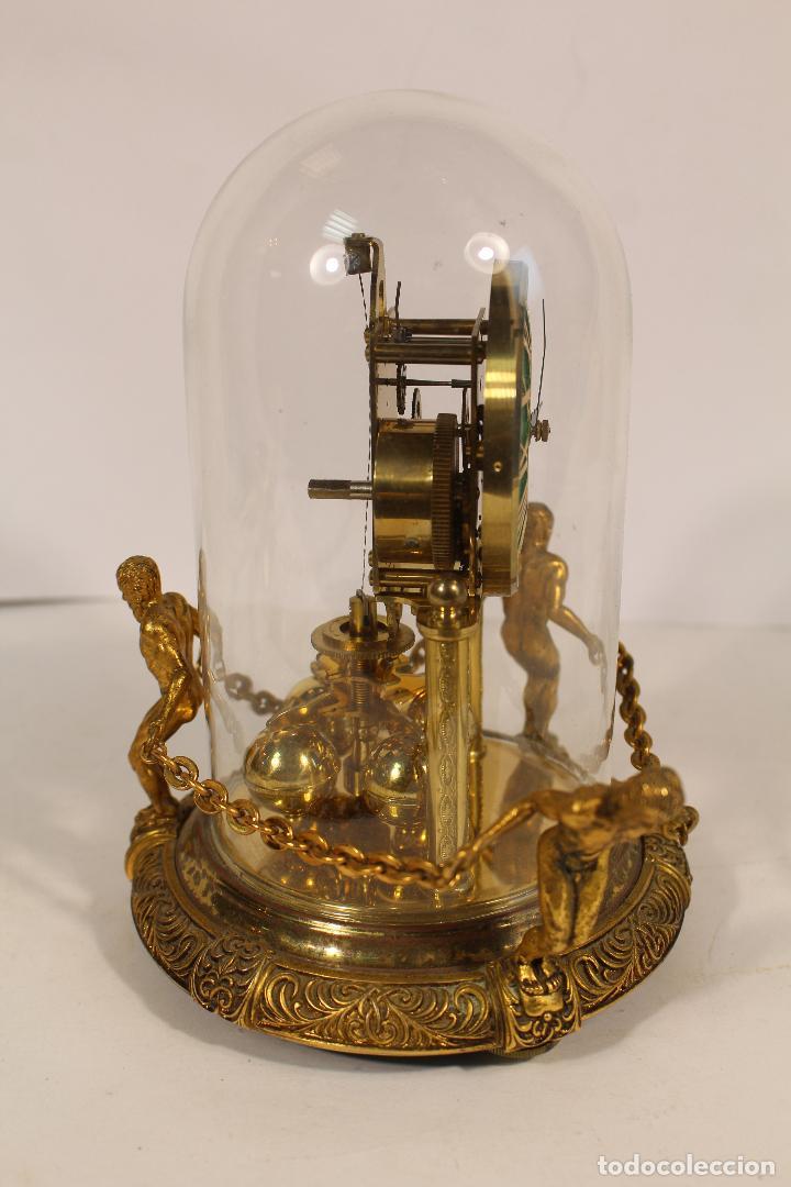 Relojes de carga manual: reloj de urna marca kem en bronce - Foto 8 - 195161306