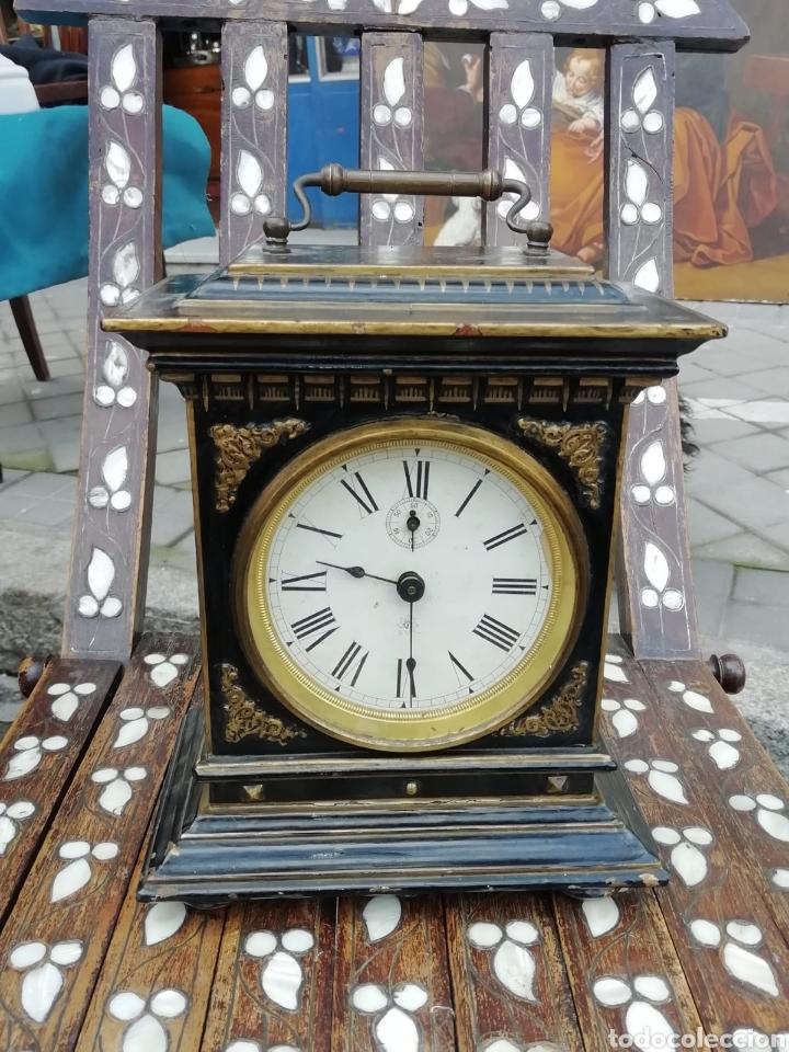 CARRIAGE CLOCK SIGLO XX CON ALARMA MUSICAL (Relojes - Sobremesa Carga Manual)