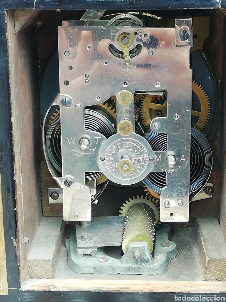 Relojes de carga manual: Carriage clock siglo XX con alarma musical - Foto 2 - 195239538