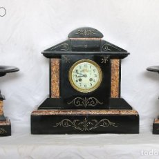 Relojes de carga manual: RELOJ IMPERIO DE MARMOL CON GUARNICIÒN. Lote 195255618