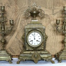 Relojes de carga manual: RELOJ DE BONCE CON GUARNICIÒN. Lote 195261981