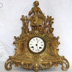 Relojes de carga manual: RELOJ DE BONCE DORADO SIN GUARNICIÒN. Lote 195263460