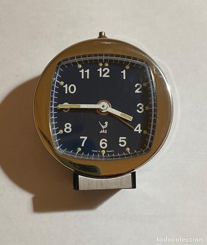 RELOJ ALARMA SOBREMESA DE CUERDA MARCA JAZZ - 62 M/M. Ø (Relojes - Sobremesa Carga Manual)