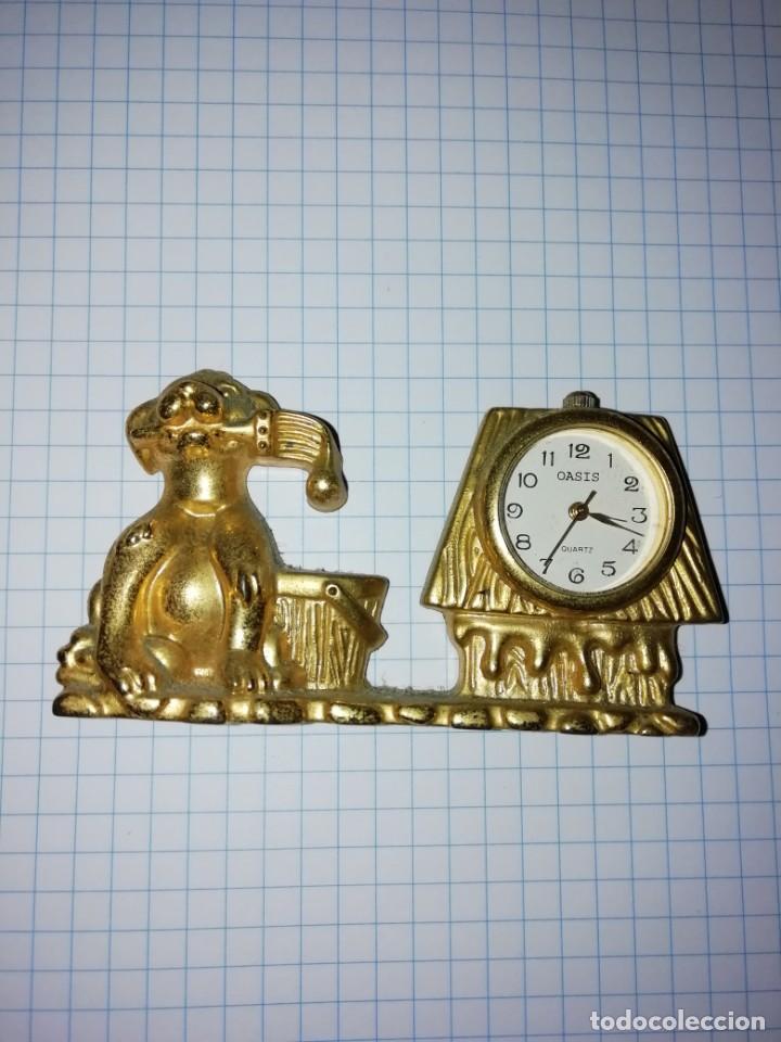 RELOJ OASIS METAL PILA DE BOTON (Relojes - Sobremesa Carga Manual)