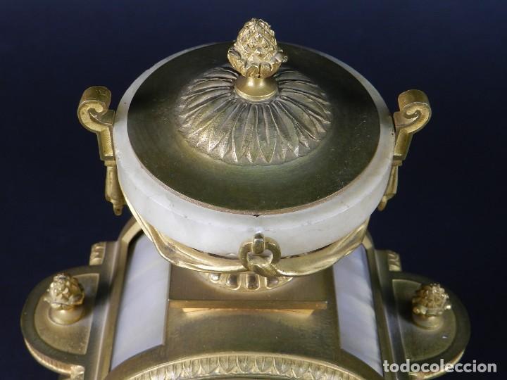 Relojes de carga manual: RELOJ SOBREMESA ORO SIGLO XIX - Foto 4 - 195305827