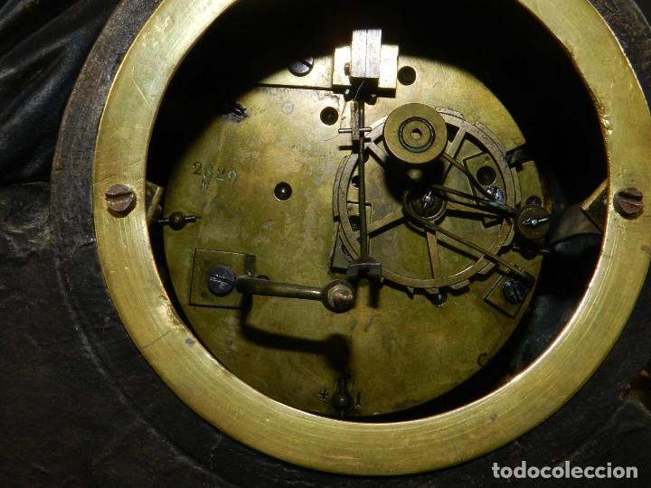 Relojes de carga manual: RELOJ SOBREMESA ORO SIGLO XIX - Foto 5 - 195307556