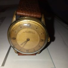Relojes de carga manual: RELOJ NIVREL ANTIMAGNETIC - ANTIGUO NO FUNCIONA. Lote 195327527