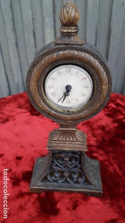 RELOJ MADERA (Relojes - Sobremesa Carga Manual)