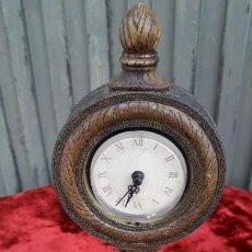 Relojes de carga manual: RELOJ MADERA . Lote 195407456