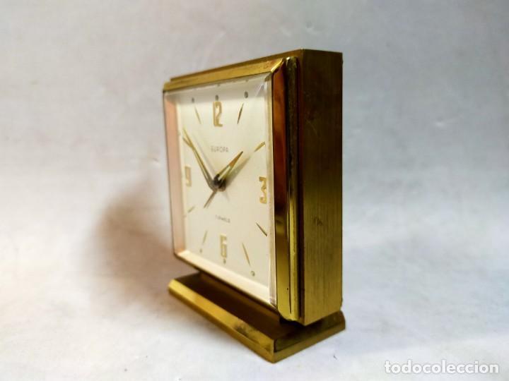 Relojes de carga manual: RELOJ DE SOBREMESA DE CARGA MANUAL. EUROPA, 7 JEWELS - Foto 2 - 195407912