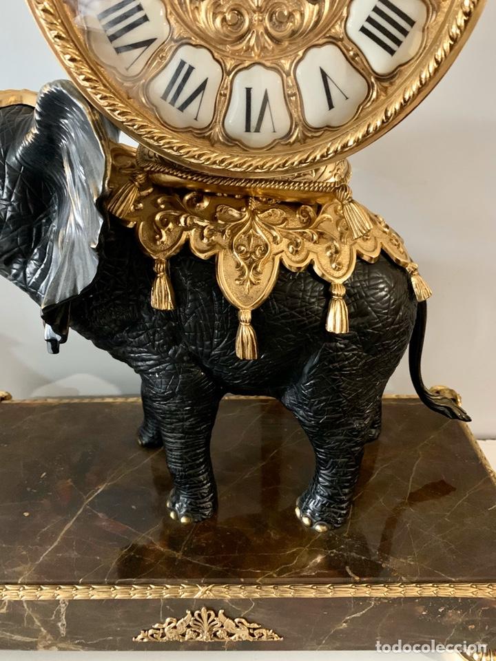 Relojes de carga manual: Reloj de mesa de bronce - Foto 5 - 195468577