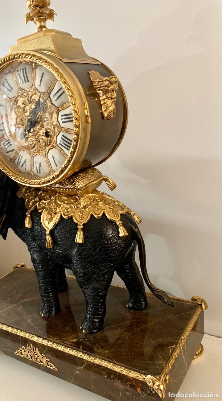 Relojes de carga manual: Reloj de mesa de bronce - Foto 7 - 195468577