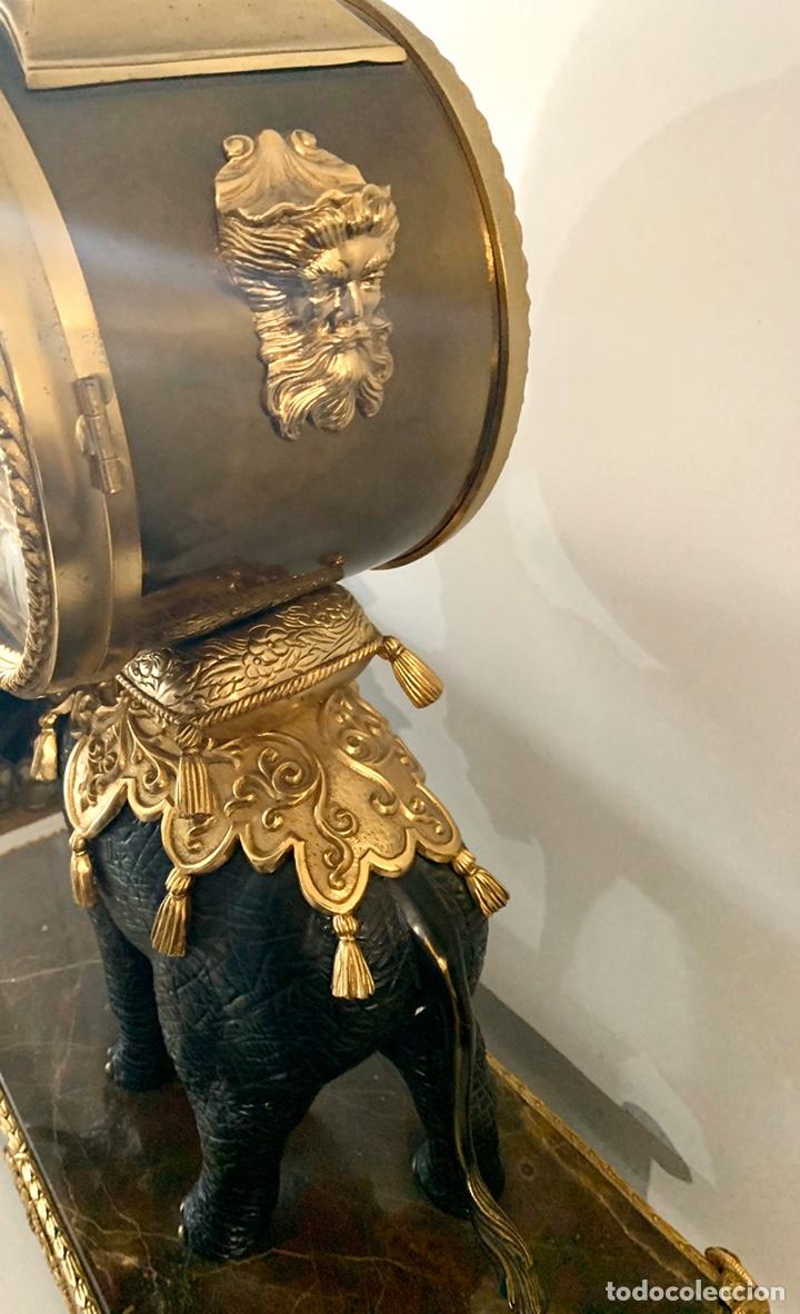 Relojes de carga manual: Reloj de mesa de bronce - Foto 8 - 195468577