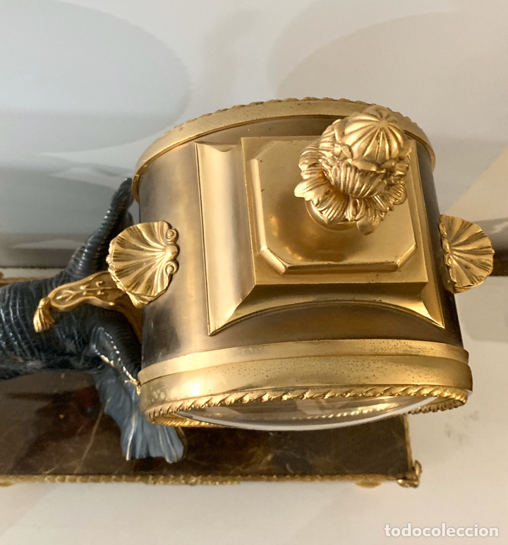 Relojes de carga manual: Reloj de mesa de bronce - Foto 9 - 195468577