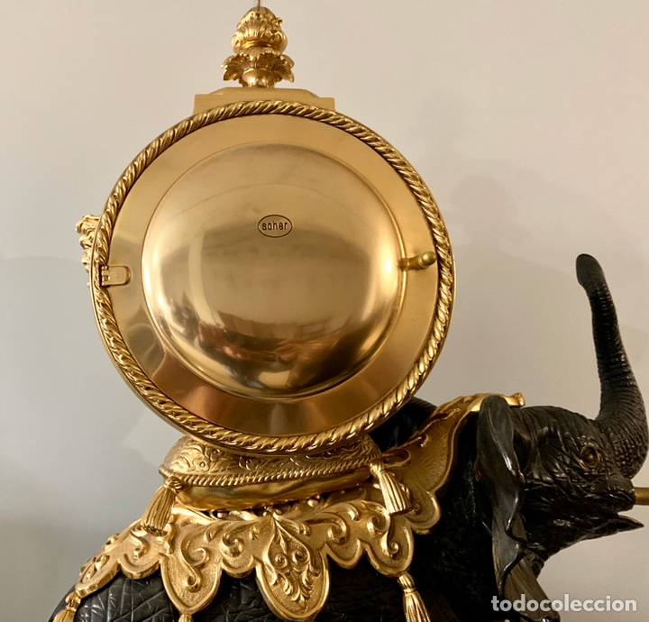 Relojes de carga manual: Reloj de mesa de bronce - Foto 14 - 195468577
