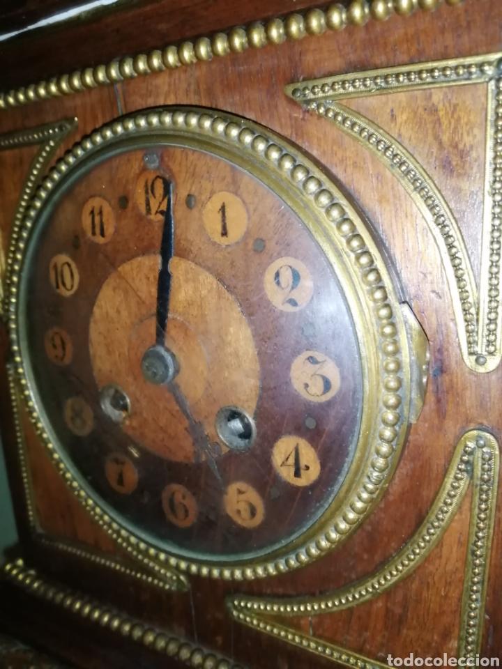 Relojes de carga manual: Reloj de sobremesa en madera,Francia siglo XIX c.1880 - Foto 4 - 195516363