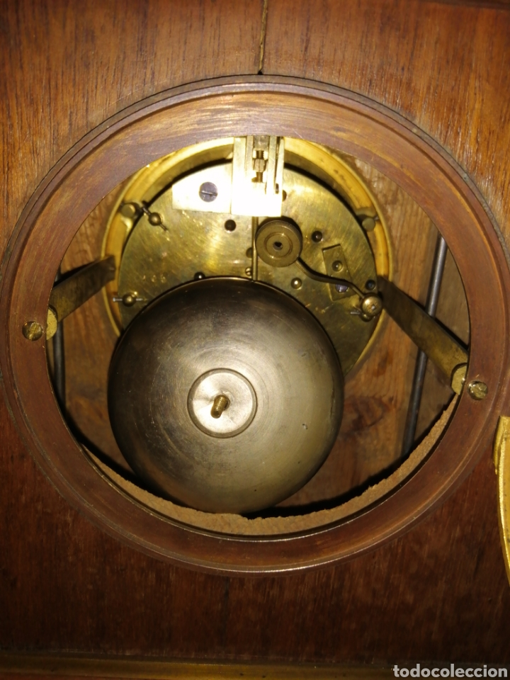 Relojes de carga manual: Reloj de sobremesa en madera,Francia siglo XIX c.1880 - Foto 6 - 195516363